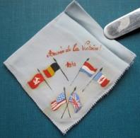 C1 / Mouchoir Souvenir De La Guerre 40-45 WW2 - 1943 Année De La Victoire - 1939-45