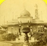 Paris Exposition Universelle 1867 Pavillon De L'Empereur Ancienne Photo Stereoscopique Leon & Levy - Photos Stéréoscopiques