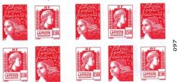 Carnets De Timbres Les Soixante Ans De La Marianne D Alge - Conmemorativos