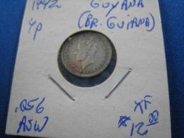 Guyana 1942 4 Pence - Münzen