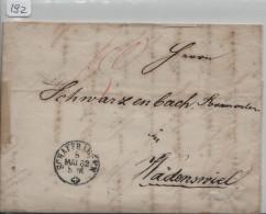 Brief Von Schaffhausen Nach Wädenswil - 1862-1881 Sitzende Helvetia (gezähnt)
