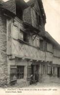 Cpa Pontivy Vieille Maison De La Rue De La Cebdre ( XVè Siècle) - Pontivy