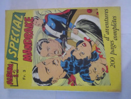 SPECIAL MANDRAKE  Album  N° 12 - Mandrake
