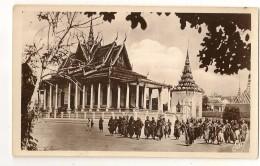 S4887 - Phnom Penh - La Pagode D' Argent - Cambodge