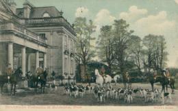 GB MANDERSTON / Berwickshire Foxhounds At Manderston / COLORED CARD - Berwickshire