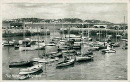 GB PAIGNTON / The Harbour / GLOSSY CARD - Paignton