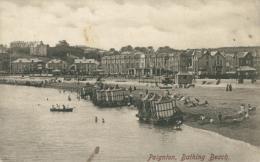 GB PAIGNTON / Bathing Beach / - Paignton