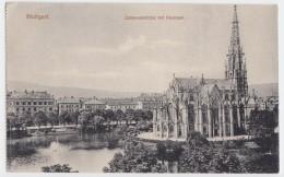 Stuttgart - Johanneskirche Mit Feuersee - Stuttgart
