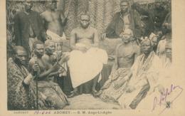 BJ ABOMEY / Sa Majesté Ango-Li-Agbo / - Benin
