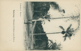 BJ ADJARA / Chemin D'Adjara, Dahomey / - Benin