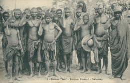 """BJ BENIN DIVERS / """"Bonzou Yévo! Bonjour Blancs"""" / - Benin"""