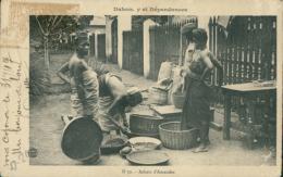 BJ BENIN DIVERS / Achats D'amandes / - Benin