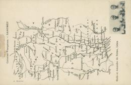 BJ BENIN DIVERS / Huile Et Amandes De Palme, Carte Géographique / - Benin