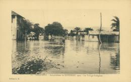 BJ COTONOU / Inondations De Cotonou, Le Village Indigène / - Benin