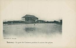 BJ COTONOU / La Gare De Cotonou Pendant La Saison Des Pluies / - Benin