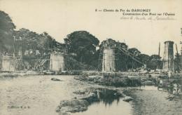 BJ OUEME / Chemin De Fer Du Dahomey, Construction D'un Pont Sur L'Ouémé / - Benin