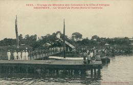 BJ PORTO NOVO / Voyage Du Ministre Des Colonies à La Côte D'Afrique, Le Wharf De Porto-Novo à L'arrivée / - Benin
