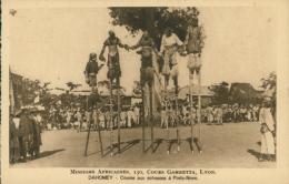 BJ PORTO NOVO / Course Aux échasses à Porto-Novo / - Benin