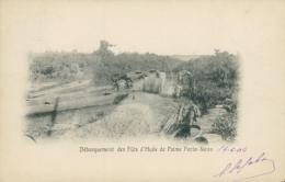 BJ PORTO NOVO / Débarquement Des Fûts D'Huile De Palme / - Benin
