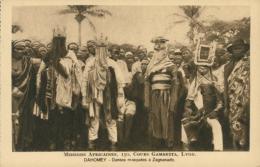 BJ ZAGNANADO / Danses ùasquées à Zagnado / - Benin
