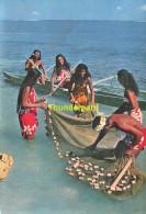 CPSM LA ROUTE DE  TAHITI  TAI PHOTO A SYLVAIN IMP. BRAUN MULHOUSE - Tahiti