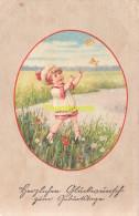 CPA  DESSIN ENFANT ILLUSTRATEUR  ** E. FRANK FRANKI ?  ** ARTIST SIGNED CARD - Illustrateurs & Photographes