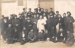MILITARIA  GUERRE 14 18  SANTE  BLESSES  MEDECIN  CARTE PHOTO - Guerre 1914-18