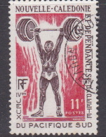 New Caledonia SG 488 1971 4th South Pacific Games 11F Weightlifting Used - Weightlifting