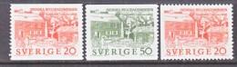 SWEDEN   634-6   *   LINNAEUS  HOME - Sweden