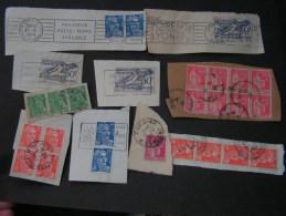 == France Lot Briefstücke - Briefmarken