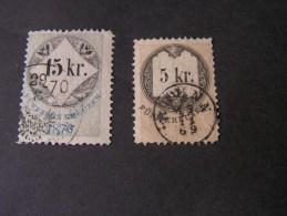 ==  Stempel Marken , Eine Mit Poststempel ? 1869 - 1850-1918 Imperium