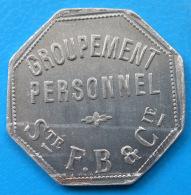 Paris 75 Sté Flicoteaux , Boutet & Cie 2 Francs INEDIT ET SUPERBE - Monetary / Of Necessity