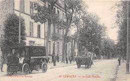 CPA 87 LIMOGES AVENUE BAUDIN (CAMION DES NOUVELLES GALERIES - Limoges