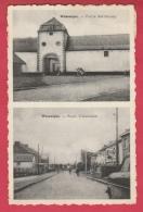 Wasseiges - Ferme Barthélemy Et Route D'Ambresin - 2 Vues - 1961 ( Voir Verso ) - Wasseiges