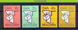 Ncf049 VERKIEZINGEN ELECTIONS VOTE FOR YOUR FUTURE STEM VIR U TOEKOMS SWA 1989 PF/MNH - Africa (Varia)