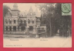 Morlanwelz - Villa Beaumez - 1908  ( Voir Verso ) - Morlanwelz