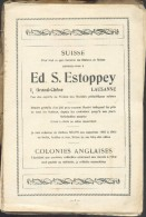 DARTEYRE Didier, Les Etudes Philatéliques Et Annales Internationales De La Timbrologie 1929, Paris, 1929, 196 Pages (man - Manuali