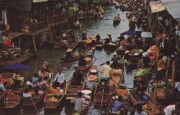 THAILAND - FLOATING MARKET,RAJBURI - Thailand