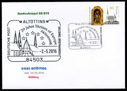 38347) BRD - FDC - Michel 3240 - ESST 53113 BONN Vom 02.05.2016 - 85C  Altötting, Kirche - [7] West-Duitsland