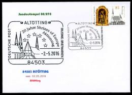 38349) BRD - FDC - Michel 3240 - ESST 53113 BONN Vom 02.05.2016 - 85C  Altötting, Kirche - [7] West-Duitsland