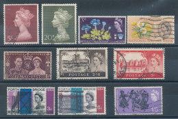 Grande Bretagne Petit Lot De 10 Timbres - 1952-.... (Elisabetta II)