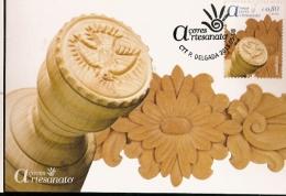 Portugal  & Postal Maximo, Azores, Embroidery Crafts, Ponta Delgada 2015 (1) - Textil