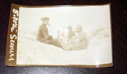 Poste De Secours WW1 Petite Photo Non Située 4X6,5cm Militaire Militaria - 1914-18