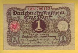 ALLEMAGNE - Billet De 1 Mark. 1920. Pick: 58. SPL - [ 3] 1918-1933 : Weimar Republic