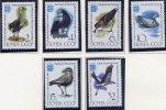 SOVIET UNION 1982 Ornithology Conference: Birds Set Of 6 MNH / **.  Michel 5181-16 - Unused Stamps