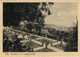 CASTELGANDOLFO    VILLA  PONTIFICIA     (VIAGGIATA) - Altre Città