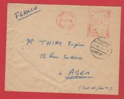 Env De Port Said --  Pour Agen --  22/8/1954 - Cartas