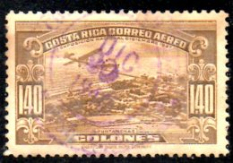 T88 - COSTARICA 1937 , Posta Aerea Yvert N. 37  Usato - Costa Rica