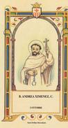SANTINI ORDINE MERCEDARIO N. 352 B ANDREA XIMENEZ C - Images Religieuses