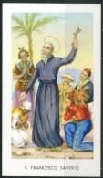 Santino - San Francesco Saverio - Con Orazione Come Da Scansione - Images Religieuses